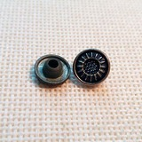 HJD006 shiny rivet alloy rivet for garment accessories