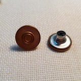 KZT--TNK006 Metal button  Jeans button Plastic inside button brass button for denim clothing  ,Bags
