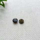 TFKD07 carve words brass rivet for denim /garment accessories